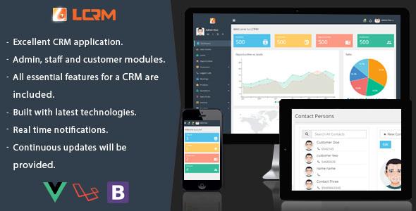 LCRM – Next generation CRM web application (Project Management Tools) Download
