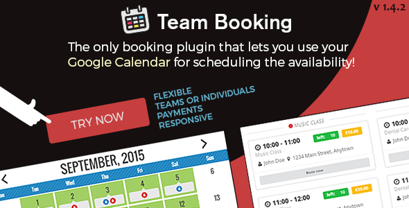 Download Team Booking - WordPress booking system nulled download