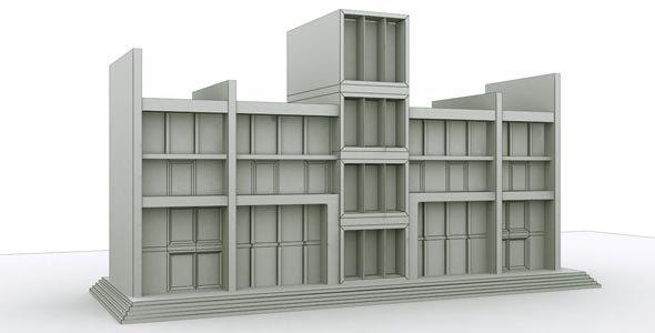 City Building - 3DOcean Item for Sale
