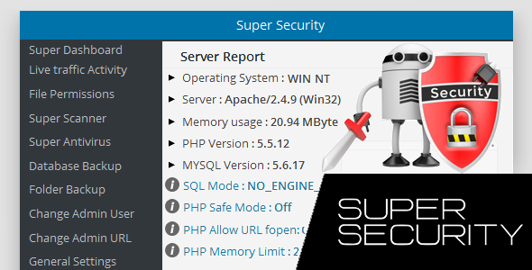 Super Security – All in One WordPress Security (Utilities) Download
