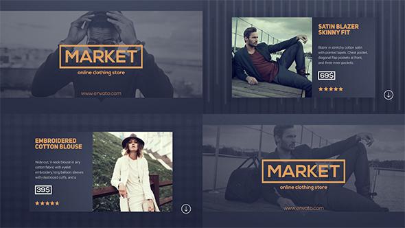 Online Store Restaurant Service Promo (Commercials)