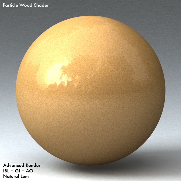 Particle Wood Shader - 3DOcean Item for Sale
