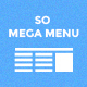 So Mega Menu - Drag & Drop | Responsive OpenCart Module