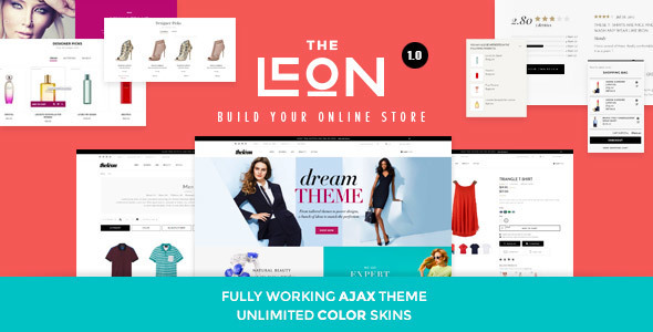 Leon | Responsive Magento Theme (Magento) Download