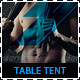 Fitness and Gym Promotion Table Tent