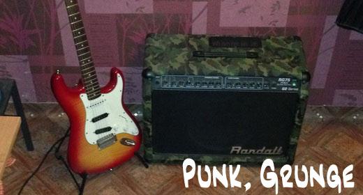 Grunge, Punk music