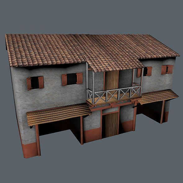 Roman Building 2 - 3DOcean Item for Sale