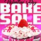 Valentines Bake Sale Flyer Template