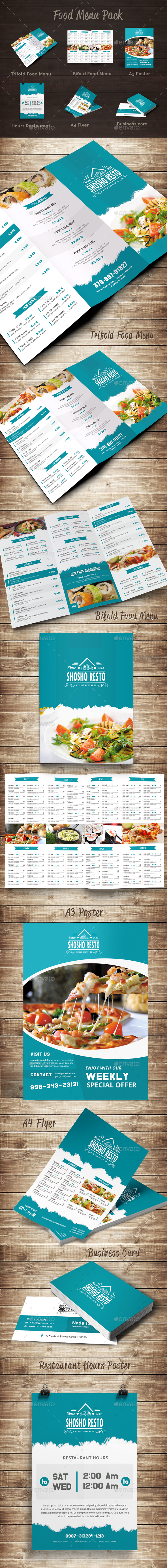 Food Menu Pack 11