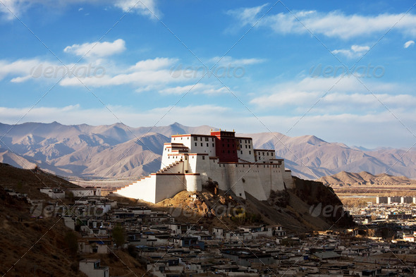Tibet - Stock Photo - Images