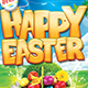 Happy Easter Flyer template 3 sizes