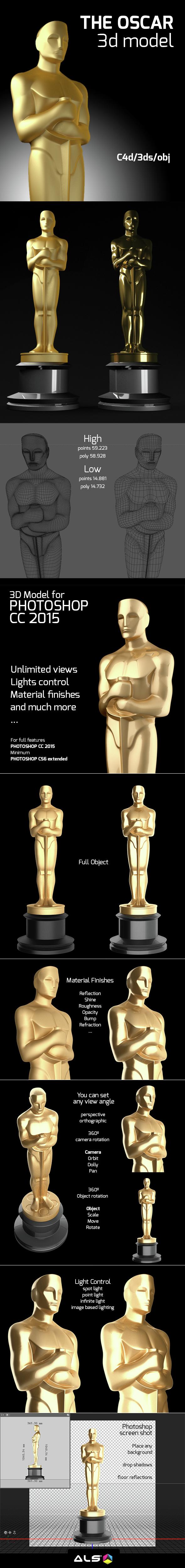 The Oscar - 3DOcean Item for Sale