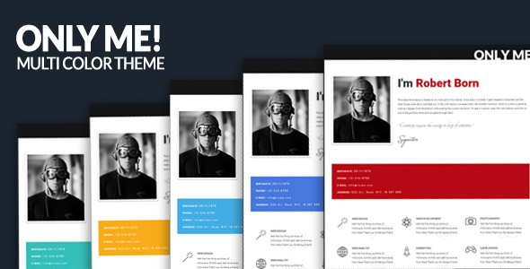 30. Only Me - Clean & Responsive Template