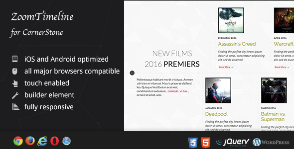 Download ZoomTimeline for CornerStone - Timeline Pack nulled download