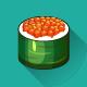 12 Sushi Set Icons