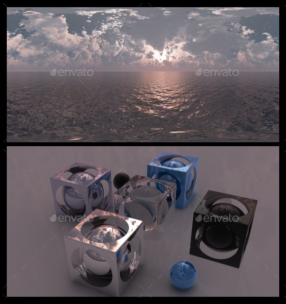 Fantasy Dusk - HDRI - 3DOcean Item for Sale