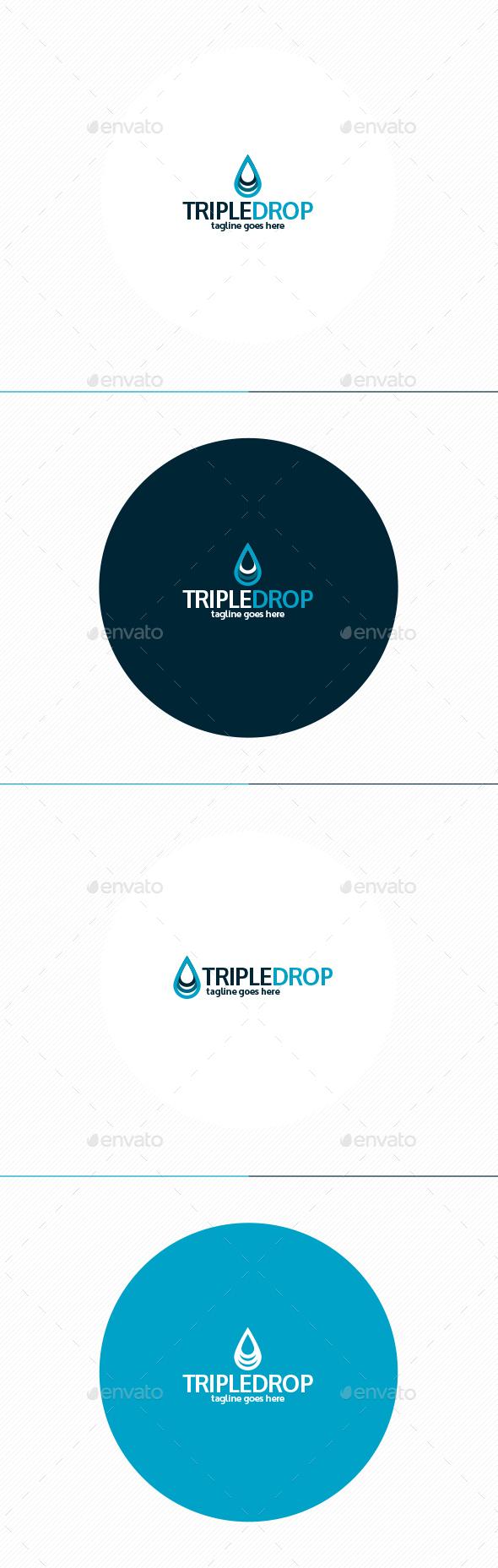 Triple Drop Logo