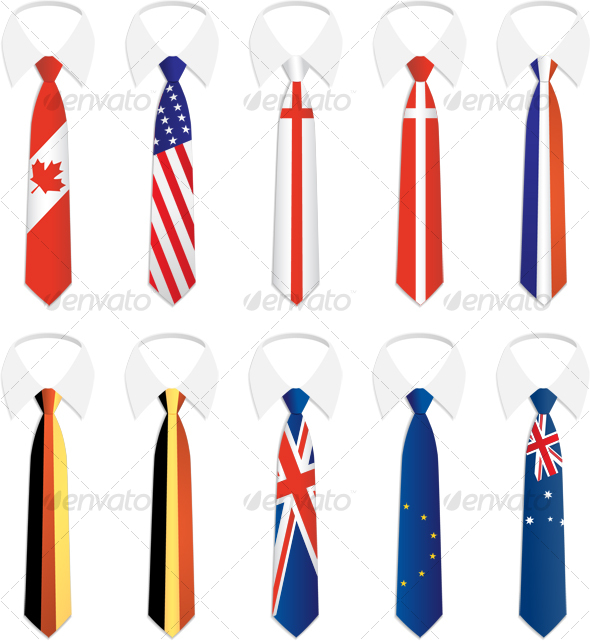GraphicRiver Nationality Tie 1 57505