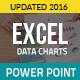 Excel Data Charts Power Point Presentation