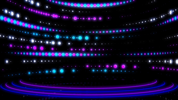 VideoHive LED Colorful Scene Stage 14543183