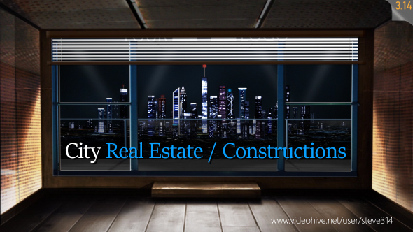 VideoHive City Real Estate Constructions 14543536