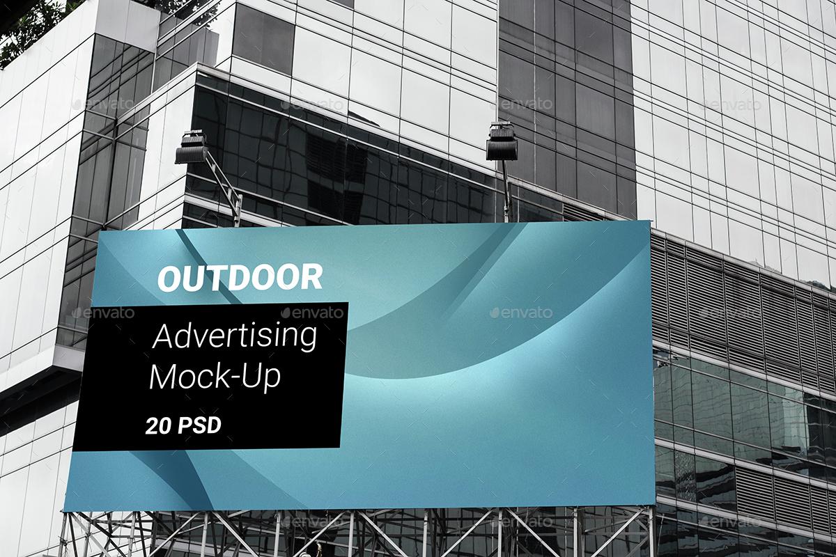 Advertising Billboard Mock-ups