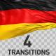 German Flag Transitions