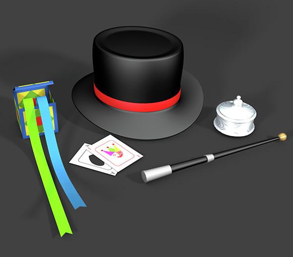 Magician's Magic Items  - 3DOcean Item for Sale