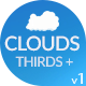 Clouds Lower Thirds, Titles and Text Holders