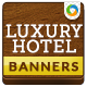 HTML5  Hotel Banners - GWD - 7 Sizes