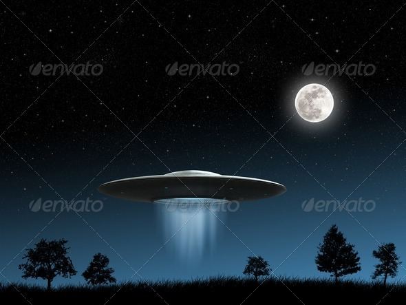 UFO - Stock Photo - Images