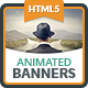 Multipurpose Animated Banners - HTML5 Ad Templates GWD