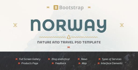 NorwayTheme – Nature Travel Template (Travel) Download