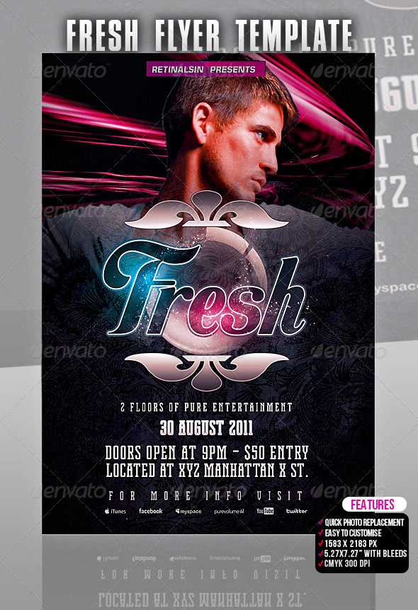 Fresh Flyer Template