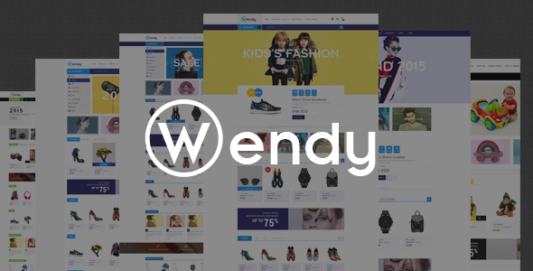 Wendy – Multipurpose eCommerce Bootstrap Template (Fashion) Download