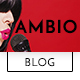 Ambio — Unique Personal Blog | Magazine PSD Theme