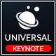 Universal Keynote Presentation Template