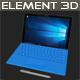 Element 3D Microsoft Suraface Pro 4