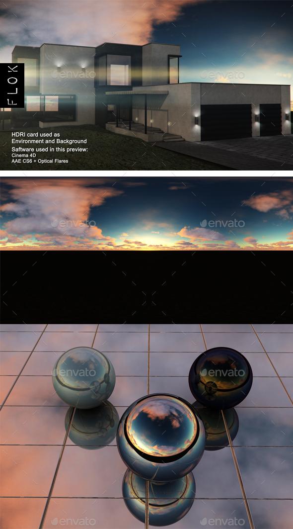 Sunset Desert 44 - 3DOcean Item for Sale