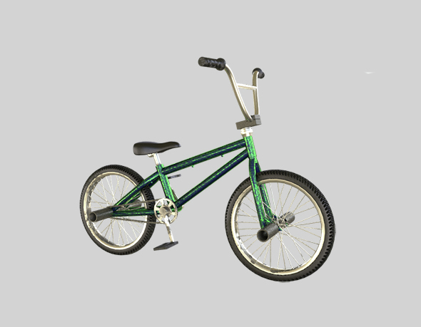 3DOcean Bicycle BMX 14564276