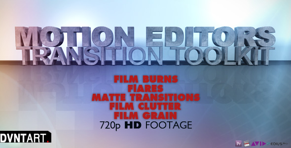 Stock Video - VideoHive Motion Editors Toolkit 172831