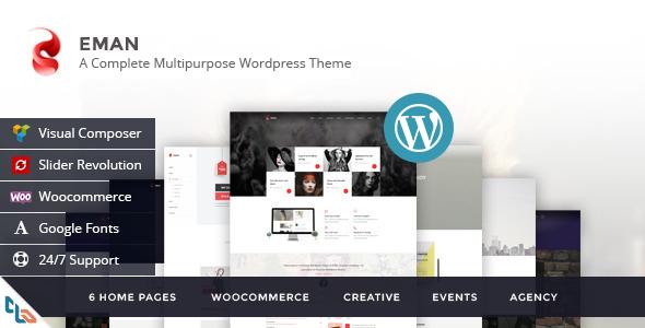Download  Eman - Creative Multipurpose WordPress Theme  nulled download