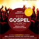 Gospel Fest Church Flyer Template