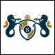 Royal Seahorse Logo Template
