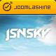 JSN Sky - Responsive Hotel Theme & Jomres support