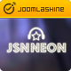 JSN Neon - Joomla Music Theme & JomSocial support