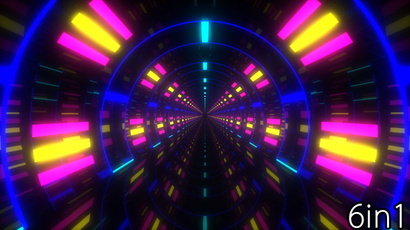 Download VJ Neon Light Tunnels nulled download