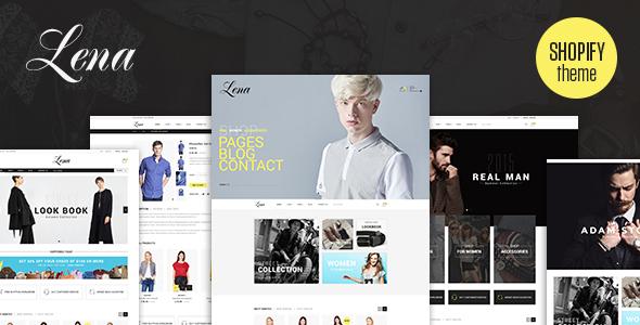 Lena – Responsive Shopify Theme (Shopify) Download