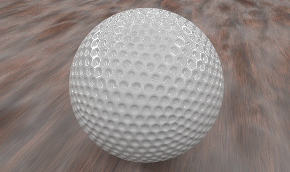 3DOcean Golf ball 1456197