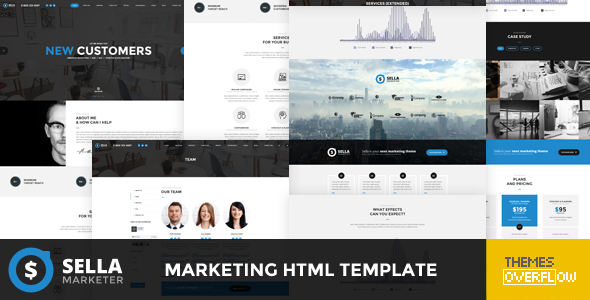 Sella – Marketing HTML Template (Marketing) Download